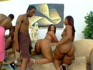 B1G Negra Bunda Orgia Porn