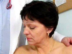 Barba Por Fazer Dona De Casa Eva Visitas De Inspeção De Buraco Do Ginecologista Doutor Foda Porn