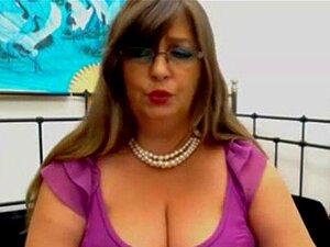 BBW Madura Mulher Grega Tiras Teases Cam Porn
