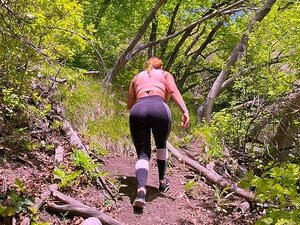 Escalar A Montanha Mais Alta Para Comer E Foder A Sua Rata Suada E Rabo Grande Porn