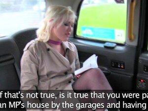 Um Falso Jornalista De Táxi Recebe Notícias Falsas Exclusivas Do Taxista De Londres. Porn