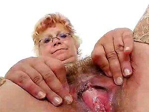Closeups Woolly Grannie Woolly Pussy Porn