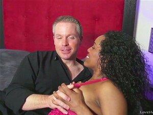 Garanhão Branco Fode Sua Garota Negra Muito Difícil Porn