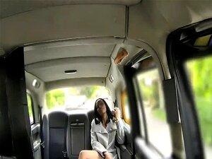 Mulher Negra Nua No Táxi De Londres Fica Fodido Doggystyle Porn