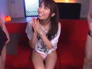 Rapariga Japonesa Maluca Arisu Miyuki Em Lingerie Excitada, Vídeo De Cuecas JAV Porn