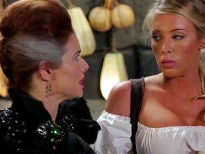 A Paródia Lésbica Da Cinderela Com Três Pornôs Deslumbrantes. Porn