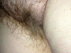Esfregando Sua Buceta Peluda, à Noite, Porn