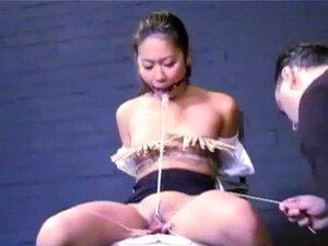 Adolescente Asiático Bdsm E Tormento De Buceta De Japonesa Tigerr Juggs Em Bizarro Hardcore Porn