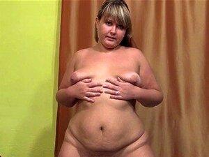 Linda Gordinha Peluda Por Uma Rata, Mostra O Seu Corpo, Domínio Porn