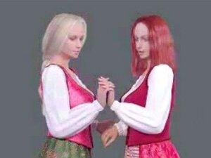 2 Lésbicas Beijando Música Vídeo 2 Porn