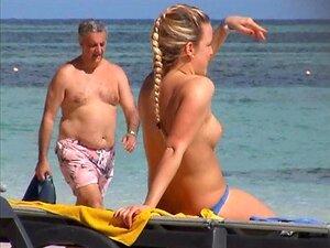 Praia Menina 004 2 Incrível Alemão Em Topless Punta Cana Part1 Porn