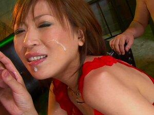 Harcore Gangbang Com A Esposa Japonesa Jun Kusanagi Em Fishnet-Jun Kusanagi Porn