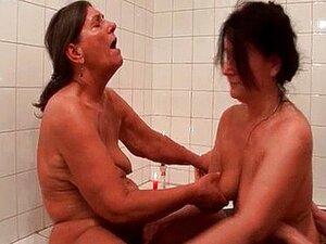 Sluts Velhas Horny Desagradáveis Ficar Loucas Lambendo Porn