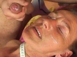 Grannies & Matures Facual Cumshots Compilation, Porn