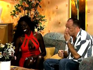 Nylon African Babe Shaved Interracial Fucking Porn