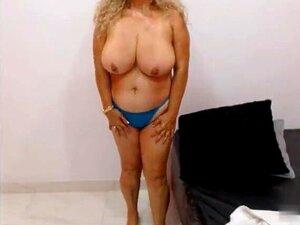 Latin Granny Big Tits Gosta De Foder Vibrador Na Webcam Porn