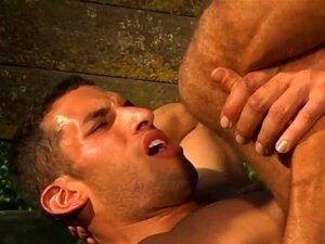 Os Gays Molham-se E Fodem-se. Uma Pila Molhada é O Que Os Gays Gostam, Tanto Na Boca Como Na Parte De Trás. Porn