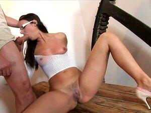 Garota Gostosa De Salto Alto E óculos Fodido Rígido Porn