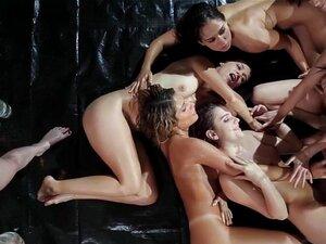 Girlsway Riley Reid S Intense Lesbian Orgy Porn