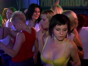 Cabras A Ver Strip. Cabras A Ver Strip A Molhar-se De Sexo Em Grupo Selvagem Com Um Careca Idiota Porn