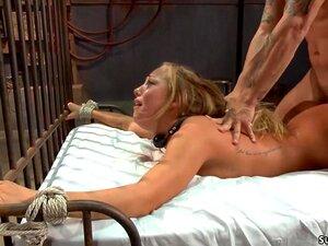 A Loira Amarrada Fodeu Bem No Cu. O Mestre Pete Amarra A Loira Boazona Babe Carter Cruise E Corta-lhe As Roupas Depois Fode-a De Olhos Vendados E Depois Fode-a No Cu Porn