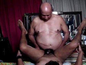Vídeo Do Velho Avô Gay Porn