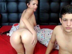 Webcam Caseira Privada, Um Par De Registos Pornográficos Com A Melhor Gerard Lady, Porn