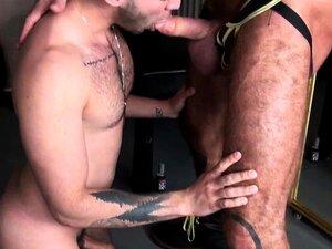 Músculo DILF Barebacks Ripped Jock Porn