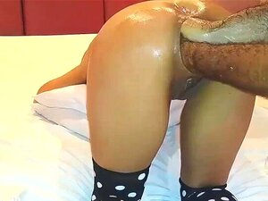 Punho Duplo Anal Fodido Milf Latina Porn