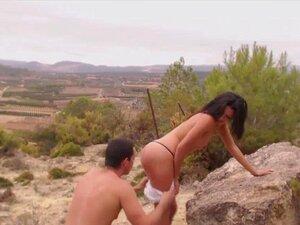 HOTGOLD Mountain Top Trepando Porn