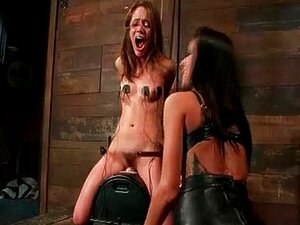 Amante Lésbica Chicotes Escrava Bonita Porn