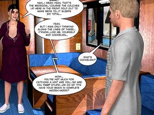 3D Em Quadrinhos: O Vale Uncanny 1 Porn