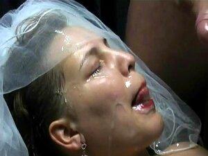 Noiva Obter Facial Da Festa De Casamento Toda Porn