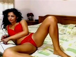 A Desi Girl, Uma Rapariga Índia Boazona Na Webcam. Porn