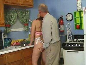 Velho Homem Na Cozinha Porn