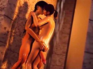 Futanari 3D De Pau Grande Fode Garota Em Várias Posições Porn