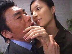 Senhora De Escritório Japonesa Alta No Controle Porn