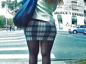 Pantyhose Legs In Tight Miniskirt, MORE VIDEO: / 110542 Porn