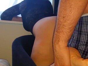 Fodido Duramente Pela Janela No Quarto De Hotel Em Londres - Premier INN Londres, Porn