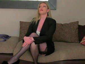 A Mãe Loira Boazona Fodeu No Casting Porn
