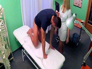 Enfermeira Loira Gostosa Equitação Paciente Sortudo Porn