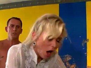 Glam Cetim Vestida Vadia Fica Fodida Porn
