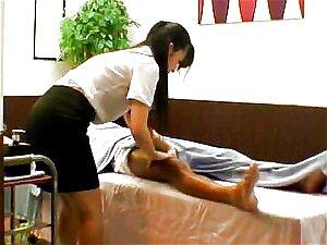 Mulher Gostosa Massagem Japonesa Obtém Dedos E Socada Porn