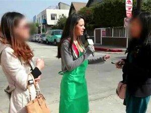 Vagabunda Usando Pizza Fora Comido Na Rua Porn