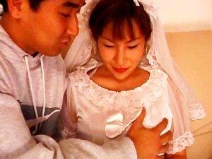 3some Asiáticos Com Noiva Ficando Puta Esmiuçadas Porn