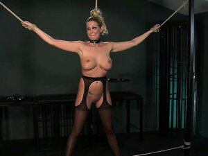 BDSM XXX Master Gives Blonde Beauty A Hardcore Lesson In Res Porn