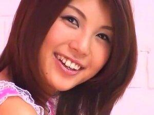 Fabulosa Puta Japonesa Azumi Harusaki Em Secretária Louca, Handjobs JAV Filme Porn