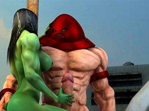 Mulher Hulk E O Rock Duro Juggernaut, Mulher Hulk E O Rock Duro Juggernaut Porn