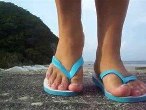 Havaiana Tradicional Pretty Feet Porn