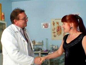 Olga Madura Tem Exame De Espéculo Ginecologista Dela Ruiva Cabeluda Porn